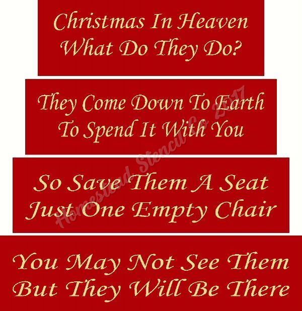 picture relating to Christmas in Heaven Poem Printable known as Primitive Stencil Product or service 7478 Shelf Sitter - Xmas inside Heaven Block Established