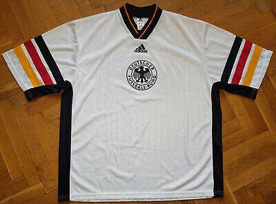 DFB Deutschland 90s Retro Adidas Training Trikot Herren Gr