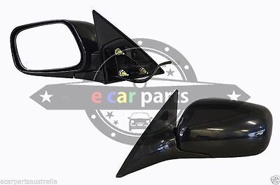 HOLDEN ASTRA TS 9//1998-5//2006 LEFT HAND DOOR SIDE DOOR MIRROR ELECTRIC BLACK