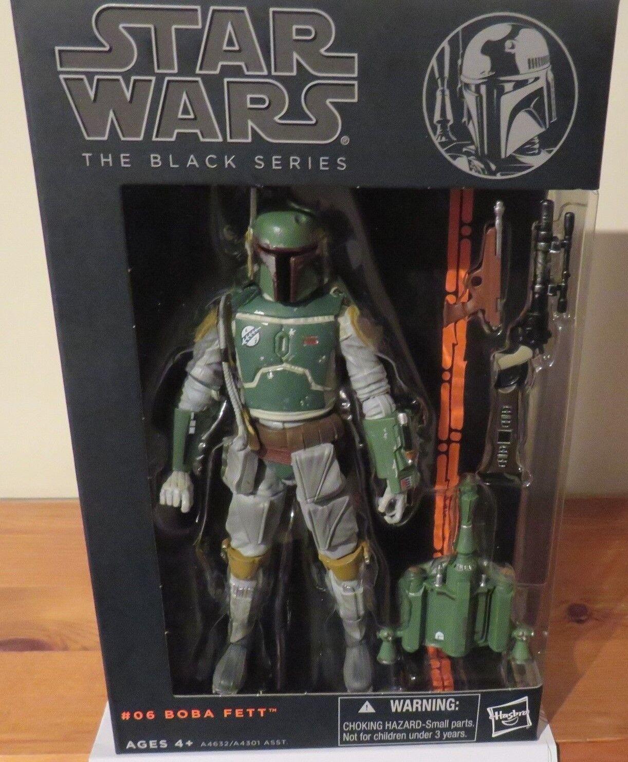 Star Wars schwarz Series 2013  06 Boba Fett + 12 - 1st Order Snow Trooper