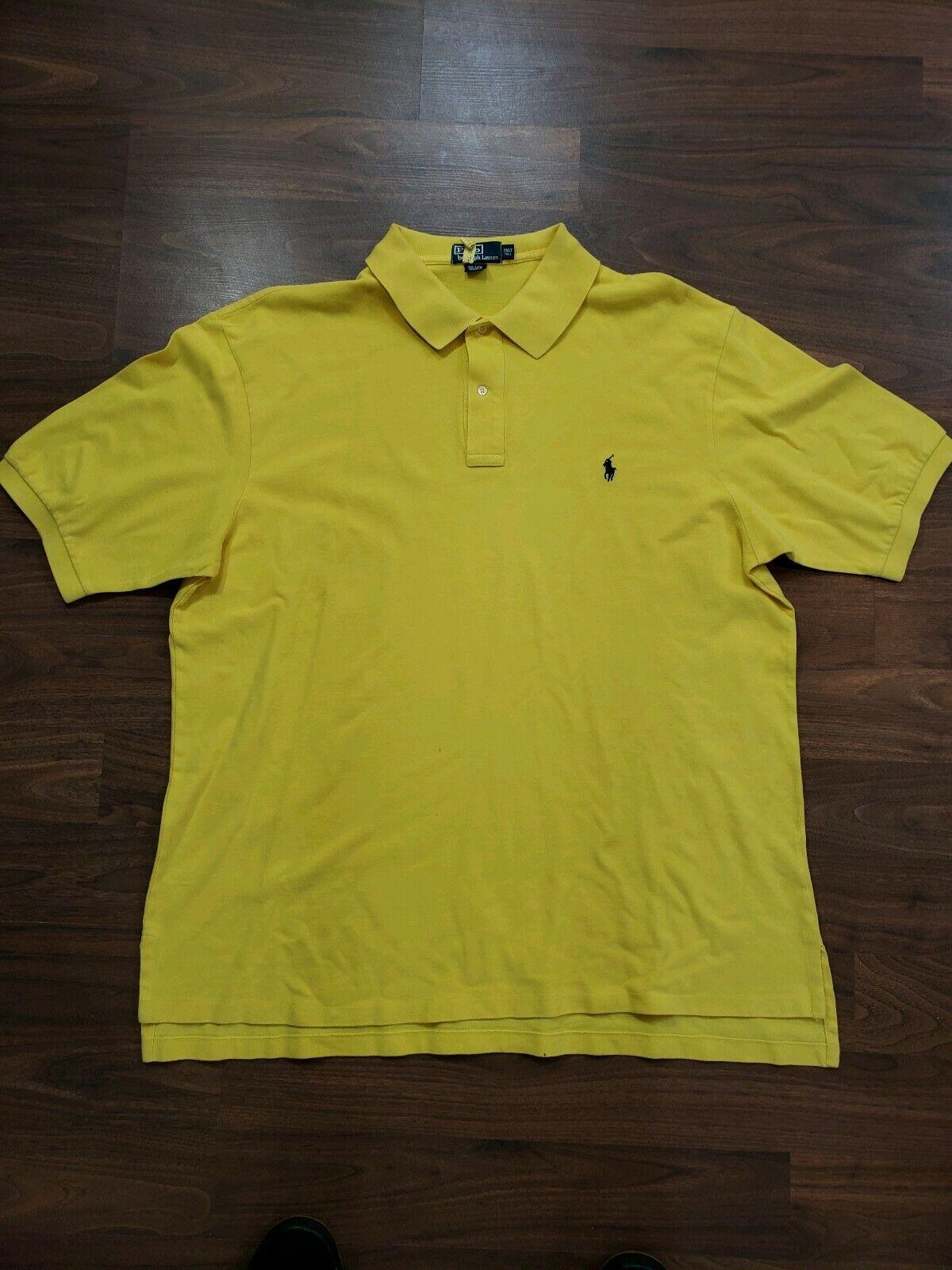 04d8ff778 Polo Ralph Lauren Men s   Tall Style Shirt Size 2XLT Big Polo ...