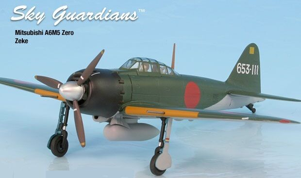 Zero A6M5 IJN Zeke Airplane Miniature Model Metal Die-Cast Kit 1:72 Part  A02WTW