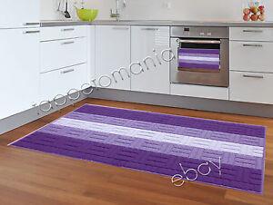 Tappeto Cameretta Lilla : Tappeto cucina bagno lilla viola lavabile in lavatrice antiscivolo