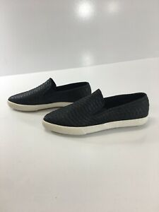 great deals pretty cool crazy price Asos Womens Slip On Plimsolls In Black Snakeskin Effect Size US:6 ...