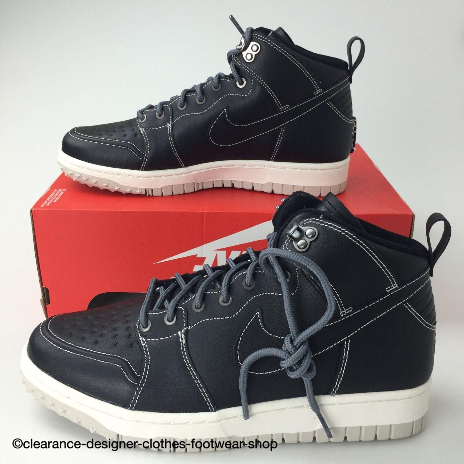 NIKE DUNK CMFT WB para Hombre Negro botas Zapatos De Senderismo walkng Confort RRP