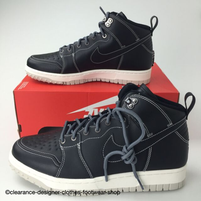 cheap for discount 4004b 31e0d NIKE DUNK CMFT WB MENS BLACK BOOTS COMFORT WALKNG HIKING SHOES UK 9 RRP £130
