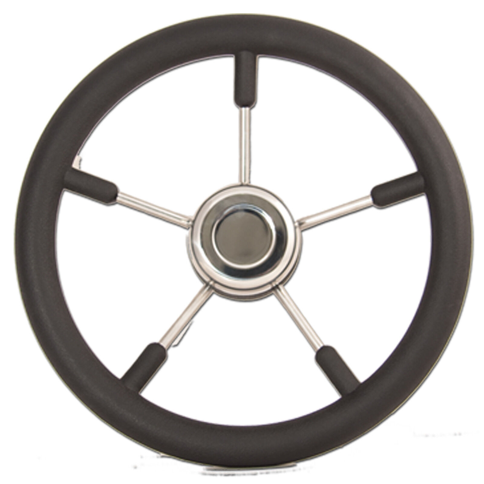 Quality Boat Steering Steering Steering Wheel 5 Spoke S Steel 3 4  Taper Ultraflex 9766bd