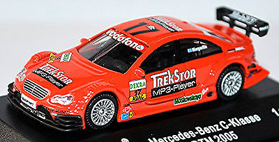Cars Mercedes Benz C Class 2005 Trekstore Mücke Motorsport Margaritis #17 1:87 To Be Renowned Both At Home And Abroad For Exquisite Workmanship Automotive Skillful Knitting And Elegant Design