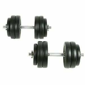vidaXL-18-Piece-Dumbbell-Set-30kg-Gym-Exercise-Training-Fitness-Free-Weight