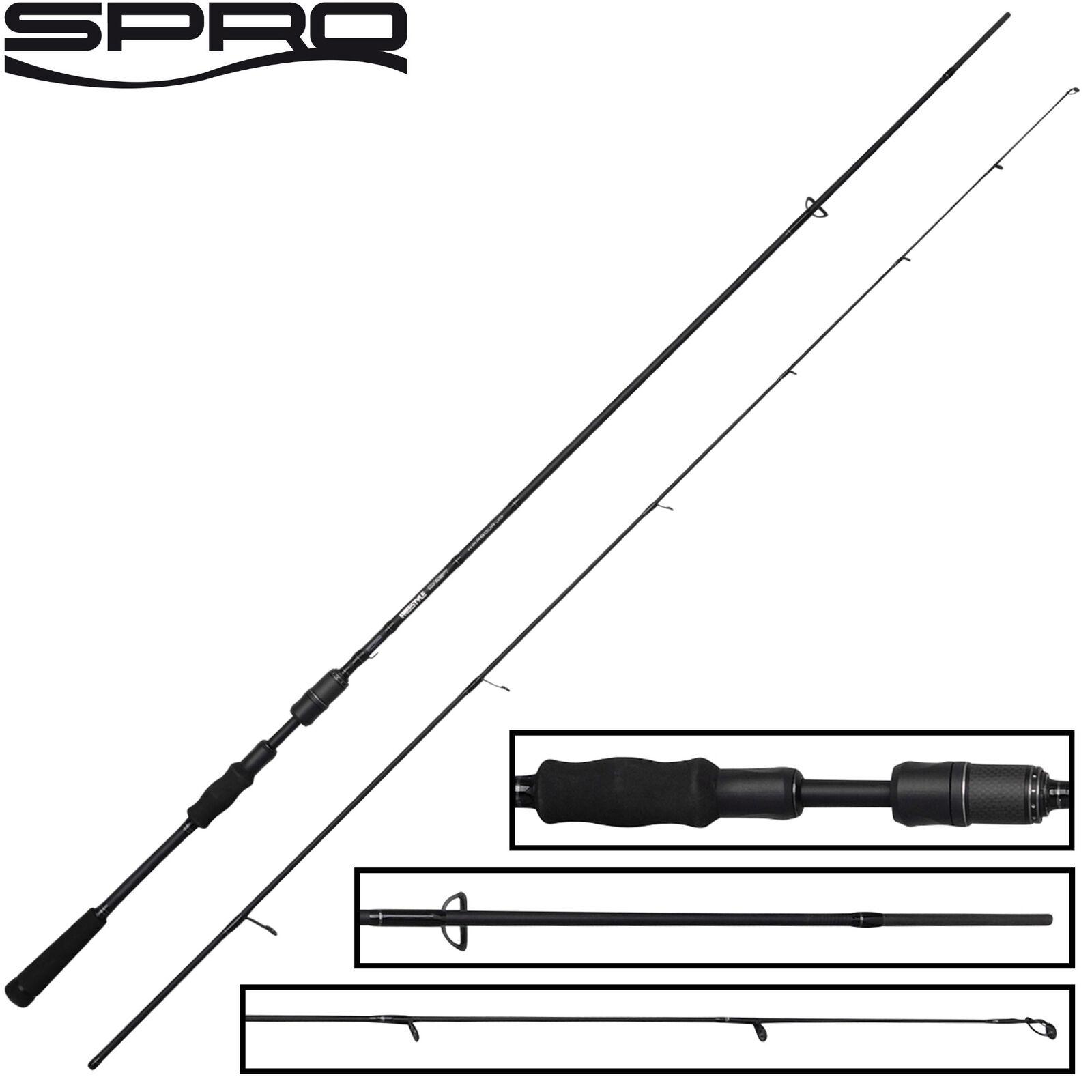 Spro Freestyle Concept Harbour 2,10m 14-48g 14-48g 14-48g - Spinnrute, Streetfishing Rute fccc15