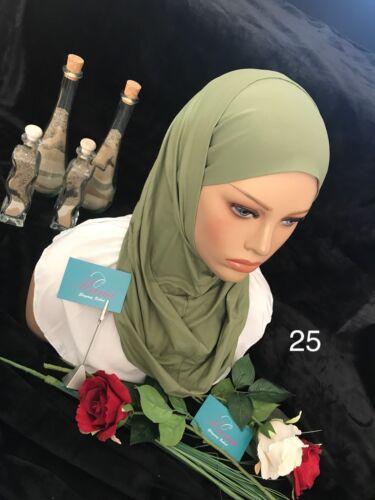 Schal  Lema Scarf Hijab Islamic Kopftuch حجاب قطعتين ليماا