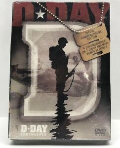 D-Day-Remembered-DVD-2-Disc-Set-New-Sealed-World-War-Two-Free-Shipping