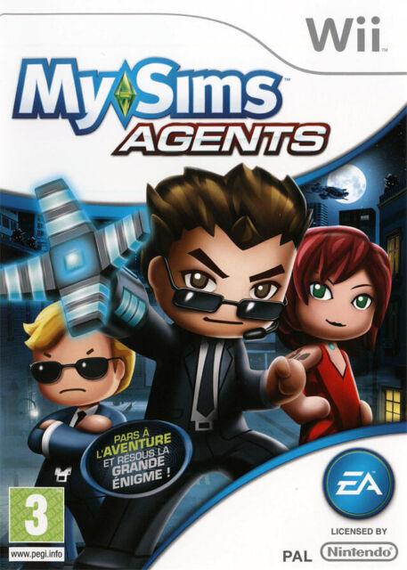 Jeu pour Nintendo Wii  My Sims Agents Pars à l'Aventure Grande Enigme !