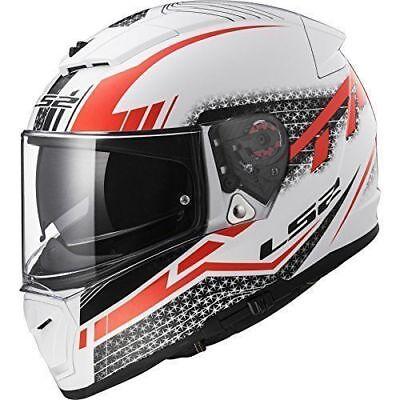 + Pinlock Lens | LS2 FF390 FULL FACE MOTORCYCLE HELMET MOTORBIKE DVS Red XS
