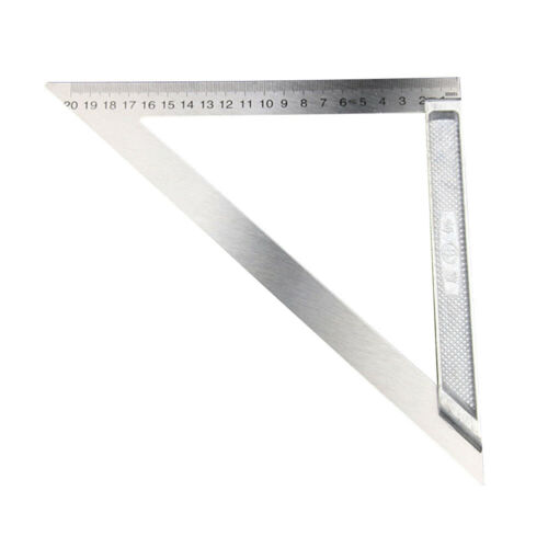 1PC Steel L-Square Angle Ruler 90 Degree Ruler For Woodworking Tool Cheap