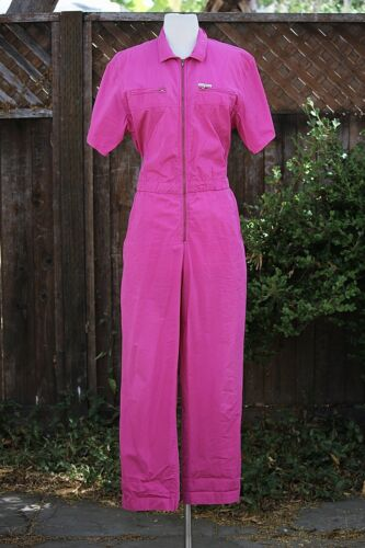 vintage 1980's jumpsuit Saint Germain Paris Pink F