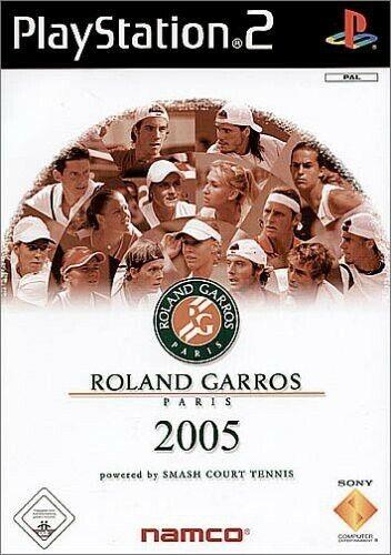 PS2 - Roland Garros 2005 - Smash Court Tennis Edition dans l'emballage utilisé