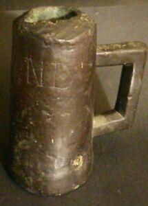 Rare-Boite-CANON-PIERRIER-XV-XVI-eme-culasse-Bronze-Black-Powder-cannon-antique