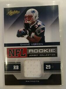 Details about 2011 ABSOLUTE MEMORABILIA #30 SHANE VEREEN JERSEY ROOKIE RC NEW ENGLAND PATRIOTS