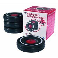 Big Bobby Car Whisper-wheels Flüsterreifen-set Reifen 4 Stück Schwarz