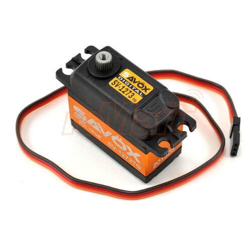 SAVOX Ultra Speed High Voltage Titanium Gear  Digital Servo 1 5 RC auto  SV-1273TG  negozio fa acquisti e vendite