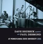 Pennsylvania State University 1955 von Dave Quartet Brubeck,Paul Desmond (2014)
