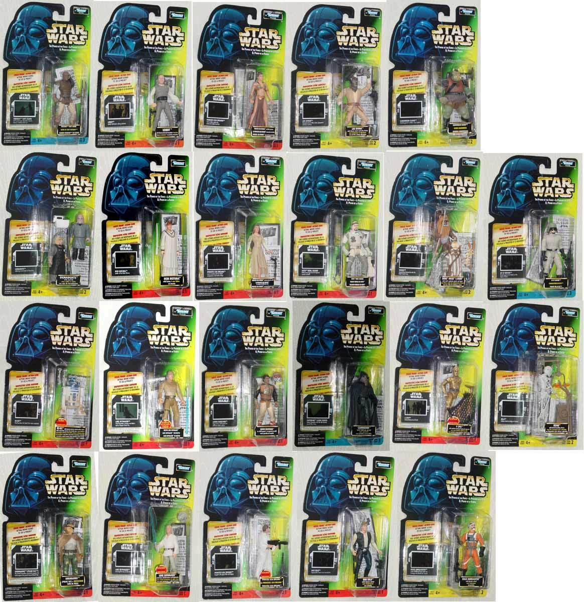 STAR WARS LOT 22 FREEZE FRAME TRILINGUAL WEEQUAY AT-ST CANADIAN EDITION