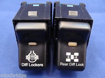 Roof Light//Rear Locker//Reverse Lights R//L Logo Jeep TJ Rocker Switch