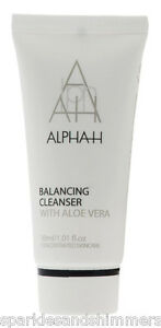 Alpha-H-BALANCING-CLEANSER-With-Aloe-Vera-30ml-TRAVEL-SIZE-Face-Facial-Wash