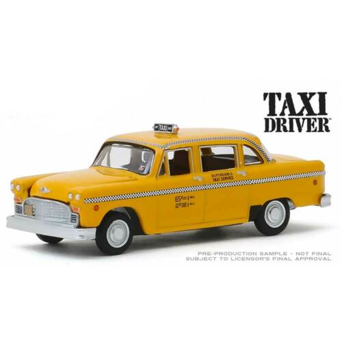 """Travis Bickle/'s 1975 Taxicab /""""Taxi Driver/"""" 1//64 Scale Greenlight Hollywood"""