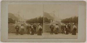 Pesanti-Francia-Foto-Stereo-Amateur-Th2n7-Vintage-Citrato-c1900