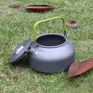 Portable-Aluminum-Tea-Pot-Camping-Coffee-Water-Kettle-Outdoor-with-Carry-Bag