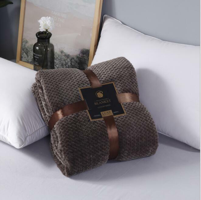 2020 NEW microfaserdecke Flannel Blanket Snuggle Blanket Sofa Blanket Throw