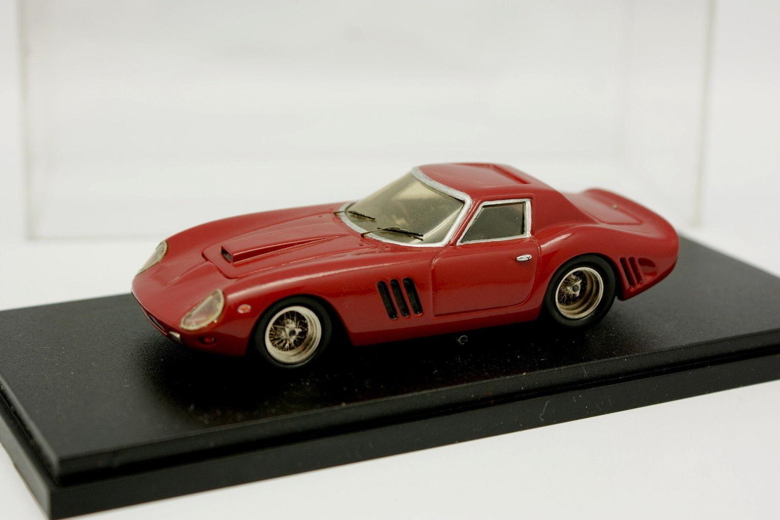 AMR 1 43 43 43 - Ferrari 250 Gto 1964 Red Dark Club France 826d5a