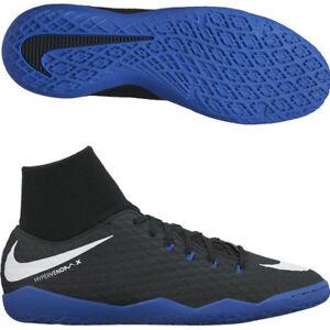 6fbd4a104 NEW Nike Hypervenom X Phelon 3 DF IC Royal Mens Indoor Soccer Shoes ...