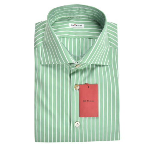 UCM 19H1082 NEW KITON SHIRT 100/% COTTON MOD
