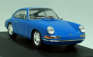 Atlas-1-43-Scale-Porsche-911-901-1964-Blue-Diecast-Model-Car