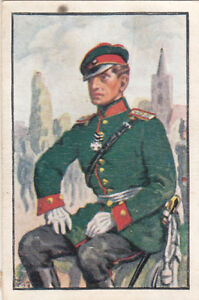 Prussia-Jager-Gendarmerie-1866-Deutsches-Heer-Germany-Uniform-IMAGE-CARD-30s