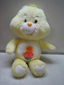 25913e8a6 Image is loading VINTAGE-1983-KENNER-YELLOW-CARE-BEARS-BIRTHDAY-BEAR-