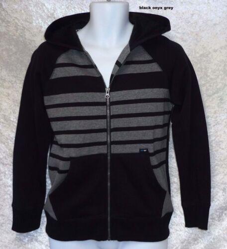 Amplify Boys Hoodie Jacket Striped Zipper Long Sleeves size S M XL NEW