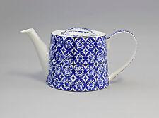 52263 Porzellan moderne Tee-Kanne Fliesen blau-weiß Jameson&Tailor