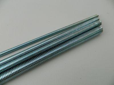 UNF THREADS 300mm Long STEEL PLATED FULLY THREADED ROD //BAR //STUDDING //ALLTHREAD