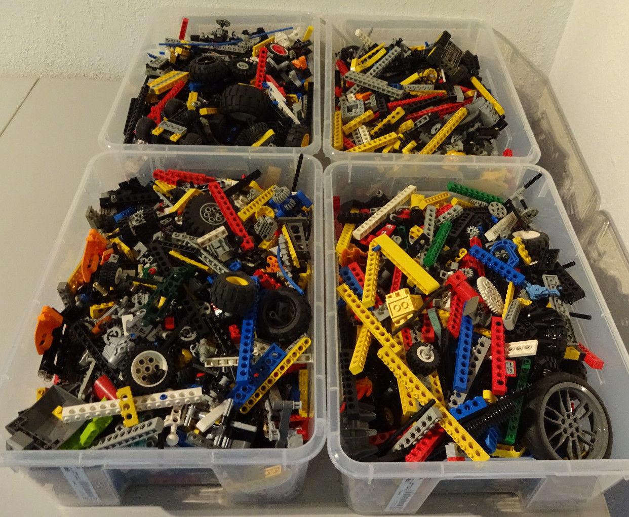 (Hk) Lego Technic Technology 1 kg Connector Wheels Lochsteine Kilo Goods Mixed