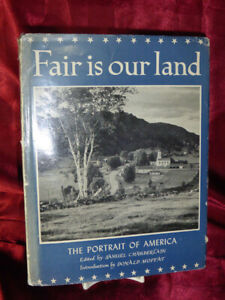 Vintage-FAIR-IS-OUR-LAND-HB-BOOK-Portrait-of-America-Photo-History-1946-7th-edit