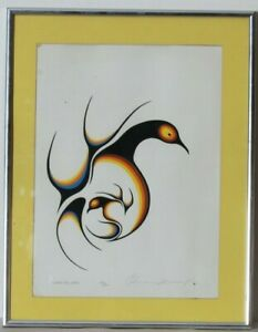 034-Mother-and-Child-034-Limited-Edition-136-500-Framed-Silkscreen-Clemence-Wescoupe