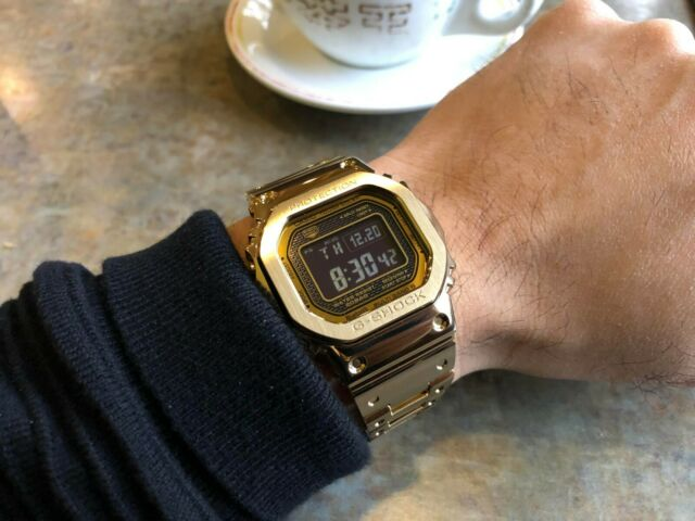CASIO G SHOCK Full Metal Bluetooth Gold Edition Watch GShock GMW B5000GD 9