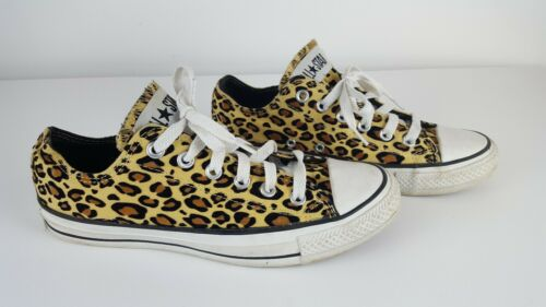 CONVERSE ALL STAR LEOPARD PRINT SNEAKERS Unisex Ch