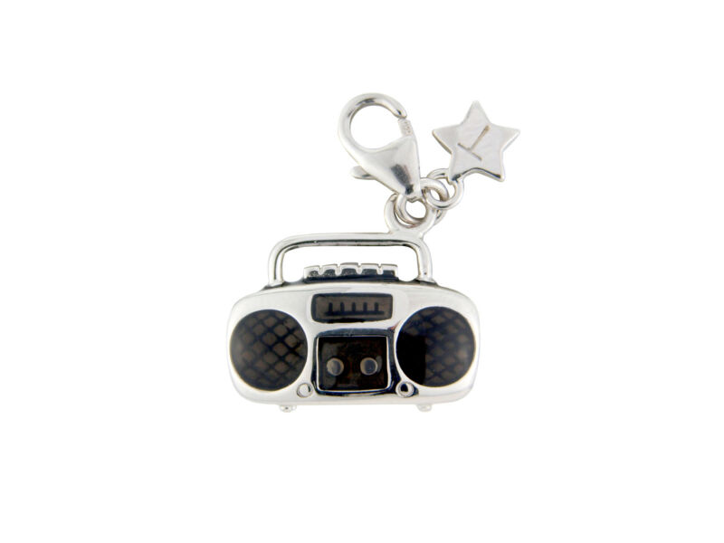 Silver Charm Tingle Music Box, Brand New