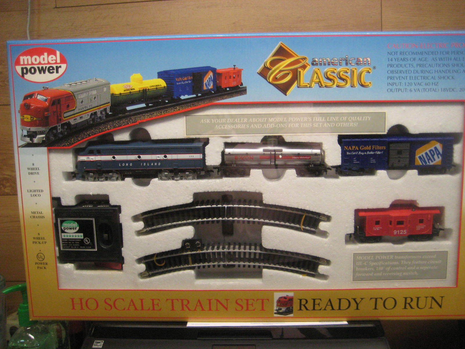 Ho Trenes Long Island Rr American Classic Train Set LIRR 1028 B2