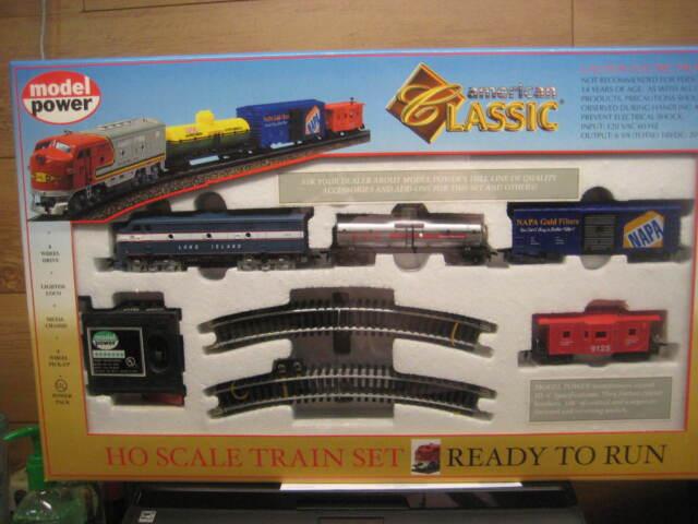 HO Trains Long Island RR American Classic Train Set LIRR 1028 B2
